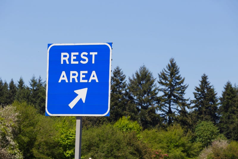 Rest Area Sign