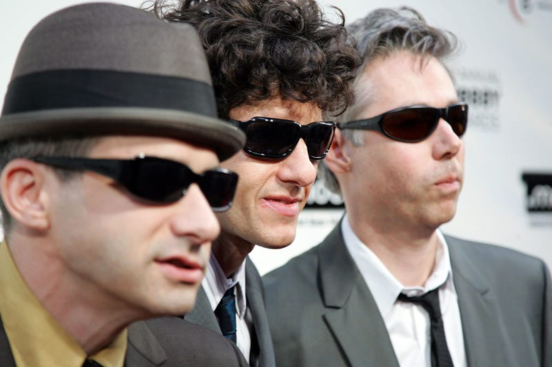 Adam Horovitz, Mike Diamond and Adam Yauch of the Beastie Boys