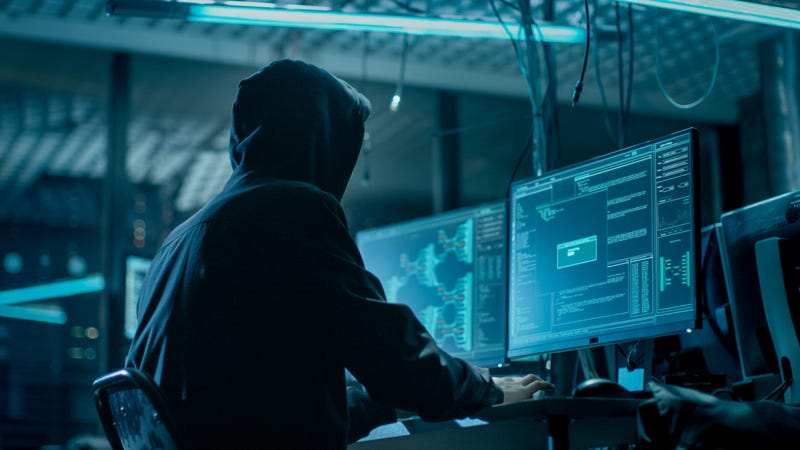 Hacker Breaking into Corporate Data Servers from His Underground Hideout