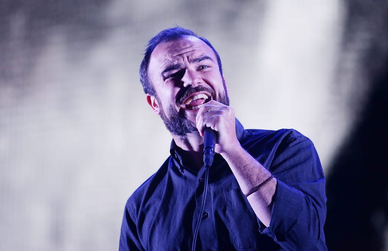BYRON BAY, AUSTRALIA - JULY 22: Samuel T. Herring of Future Islands performs during Splendour in the Grass 2017 on July 22, 2017 in Byron Bay, Australia. (Photo by Mark Metcalfe/Getty Images)
