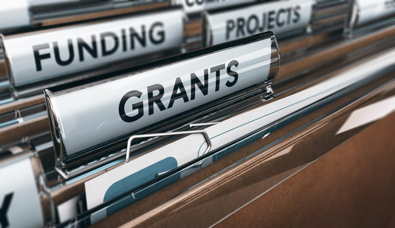 Seeking Grants for an Association, a Small Business or for Research - stock photo