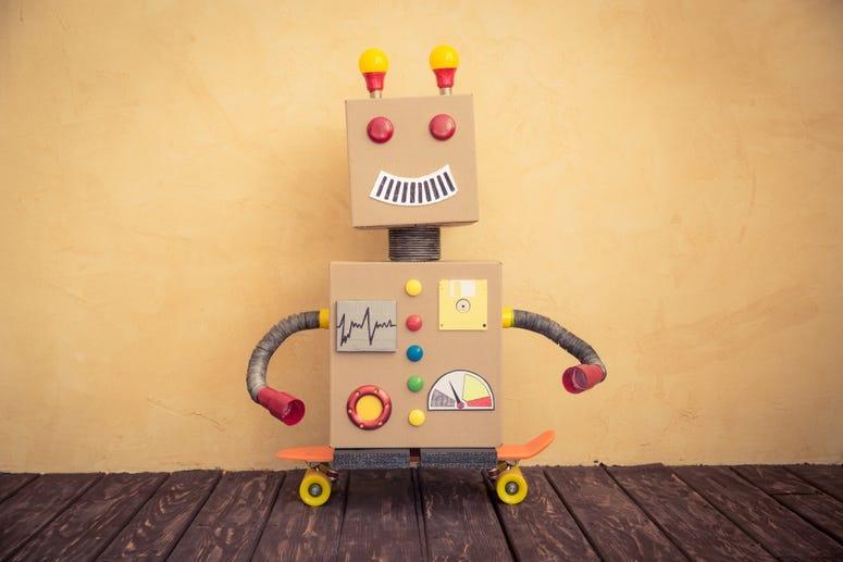 Cardboard Box Robot