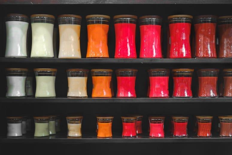 Candles, Shop, Shelf, Store