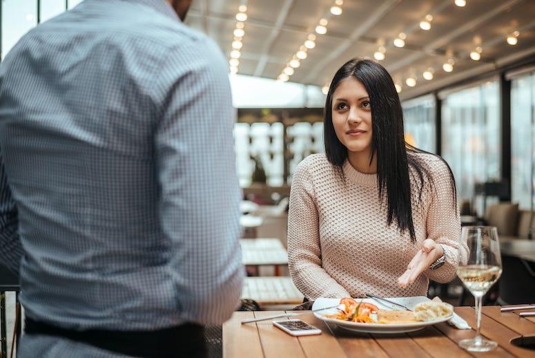 Karen, Customer, Waiter, Restaurant, Angry Customer, Complaining