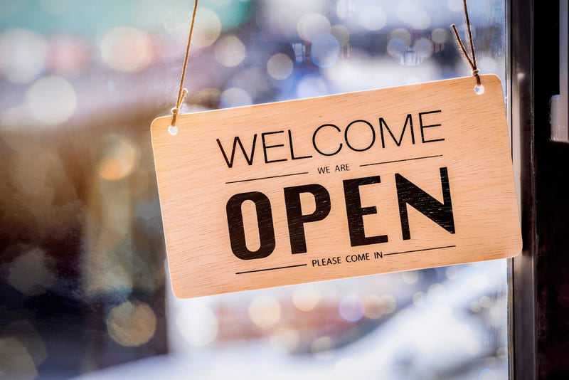 Small Business, Open Sign