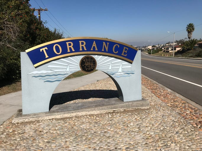 Torrance sign GETTY