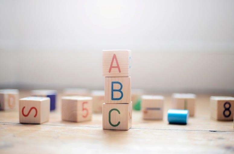 ABC, Toy Blocks, Blocks, Alphabet