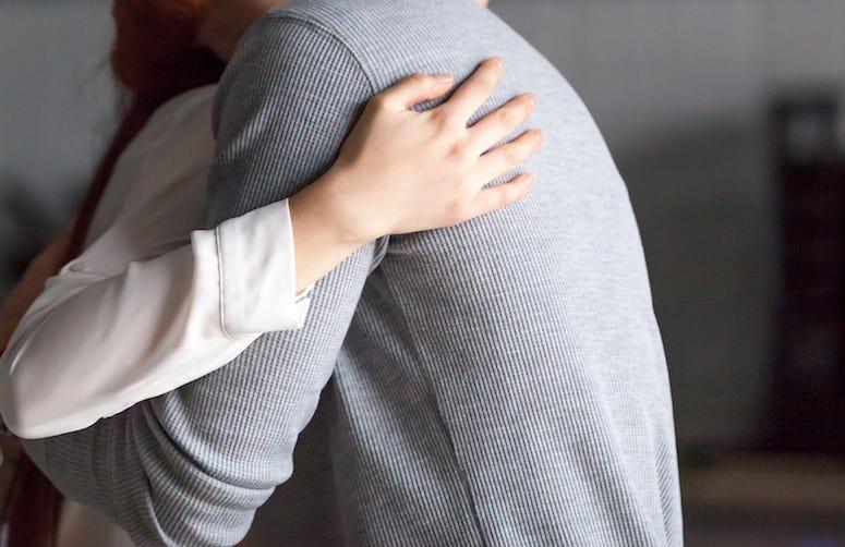 Friends, Hugging, Hug, Man Woman