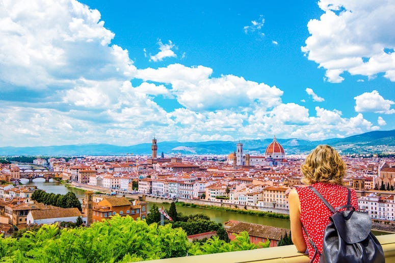 Florence, Italy, Cityscape, Tourist, Vacation, Panorama
