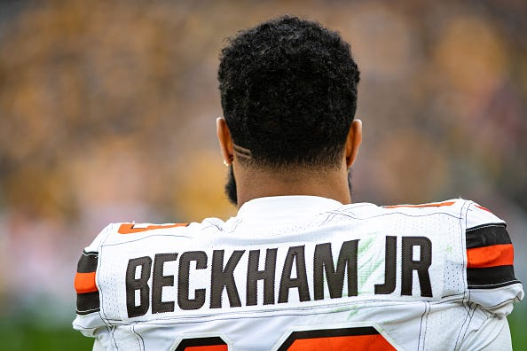 Odell Beckham Jr.'s time in Cleveland may be winding down.