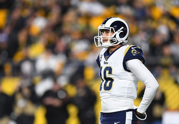 Jared Goff and the Rams have disappointed in 2019.