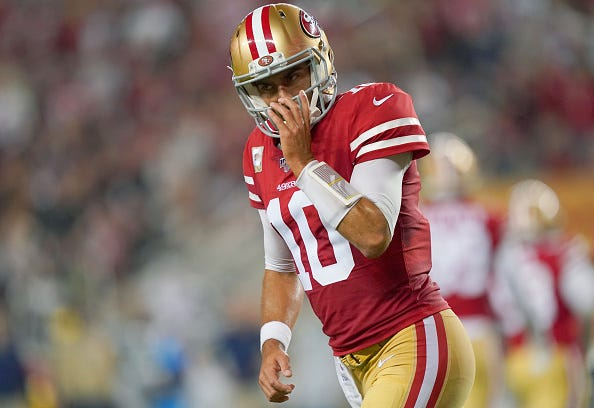 The 49ers are looking to bounce back from their first loss of the season.