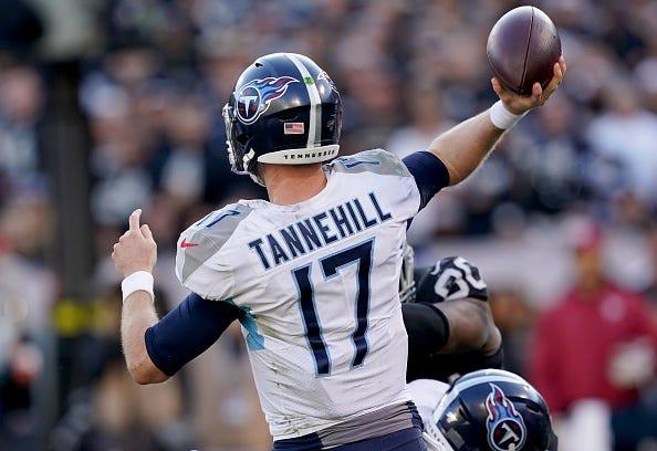 Ryan Tannehill has had a strong season for the Titans.