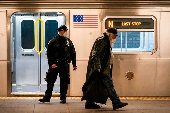 UPS workers slashed on Manhattan subway during argument with 'undomiciled' man: NYPD