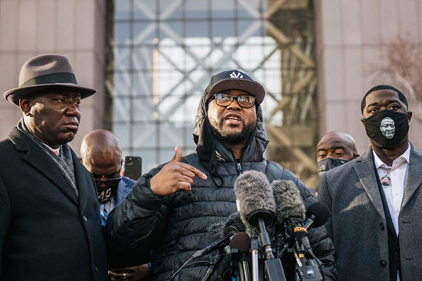 George Floyd's brother endorses former officer Eric Adams for NYC mayor