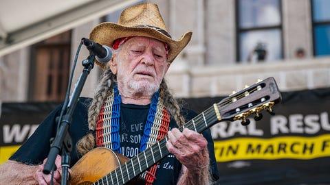 Willie Nelson in Houston 11/17