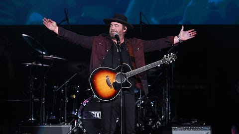 Lee Brice Performs In Katy, Texas