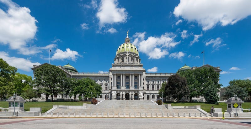 State capitol in Harrisburg, Pa.