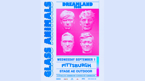 Glass Animals 2021 Dreamland Tour