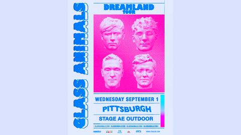 Glass Animals 2021 Dreamland Tour