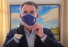 Governor Ralph Northam announces additional Covid restrictions on his Youtube page. (Youtube)