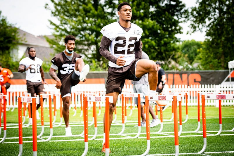 Cleveland Browns safety Grant Delpit