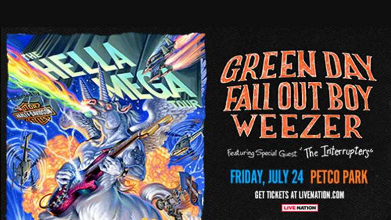 Green Day / Fall Out Boy / Weezer (NEW Date)