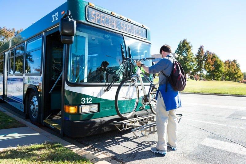 Greenlink Bus Bike Rack