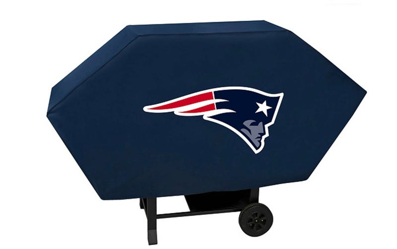 New England Patriots grill cover