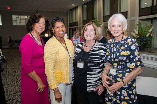 (l to r) GWG members Magaly Penn, Brenda Kegler, Jill Fivecoat, Denise Sudderth