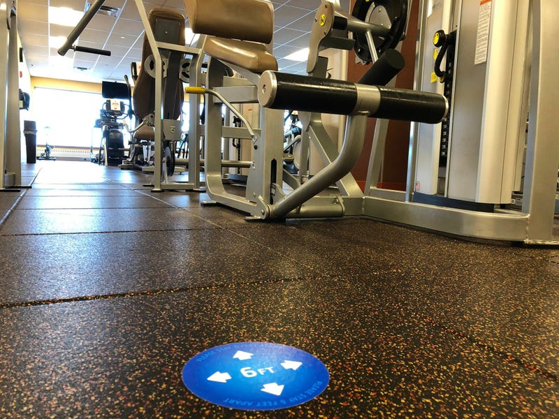 YMCA Buffalo Niagara fitness center on Tech Drive in Amherst. August 21, 2020 (WBEN Photo/Mike Baggerman)