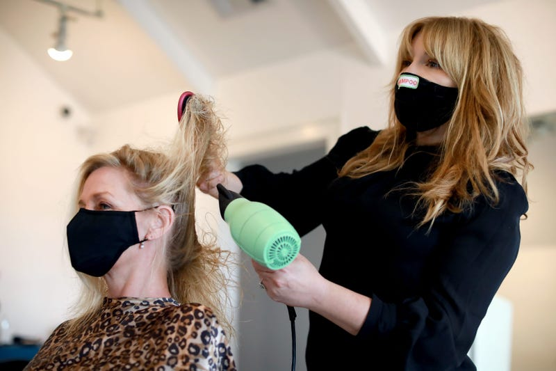 Hair salons, barber shops cleared to reopen in parts of CA