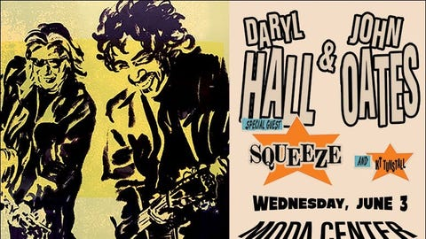 Daryl Hall & John Oates - RESCHEDULED
