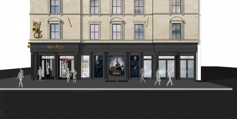 Harry Potter New York Flagship Concept