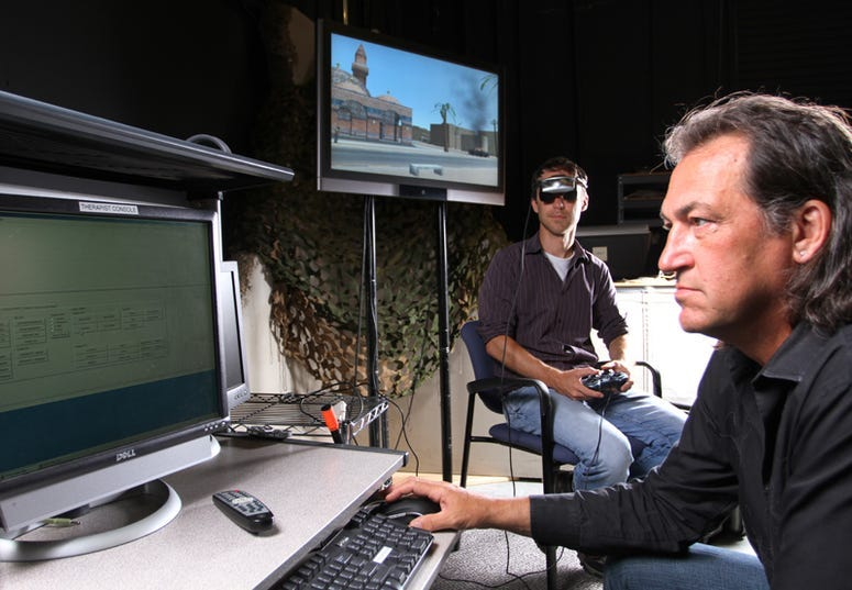 Dr. Skip Rizzo describes how Virtual Reality is being used to treat veteran's PTSD
