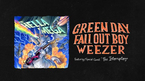 Green Day, Fall Out Boy, Weezer: The Hella Mega Tour