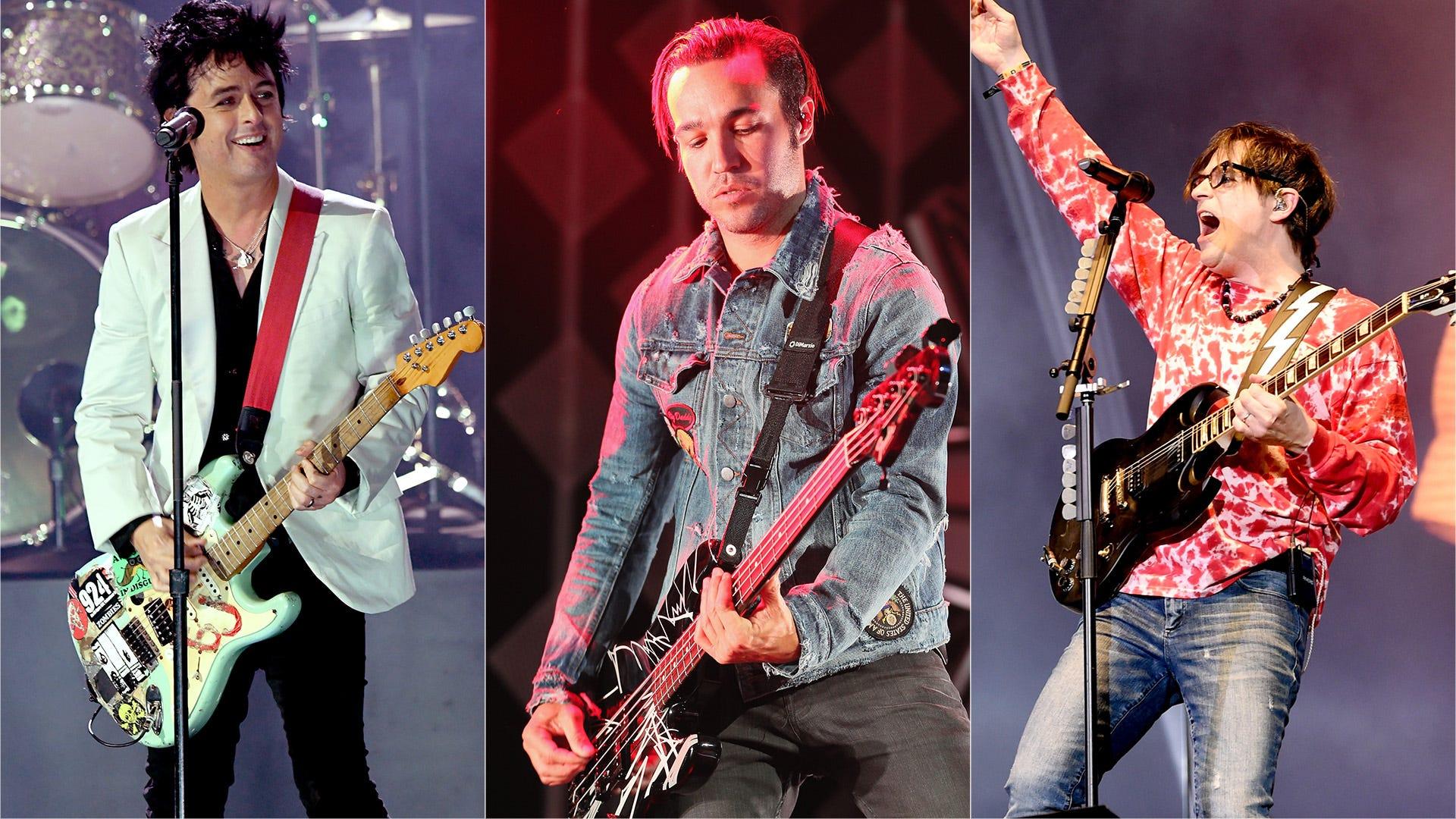 Green Day, Weezer, Fall Out Boy 'Hella Mega Tour' still on in US, despite postponement in Europe