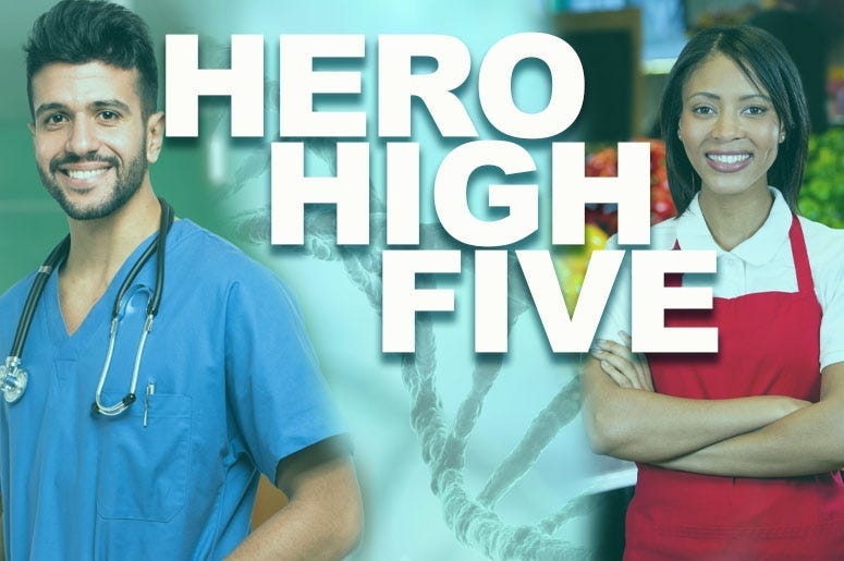 Hero High Five