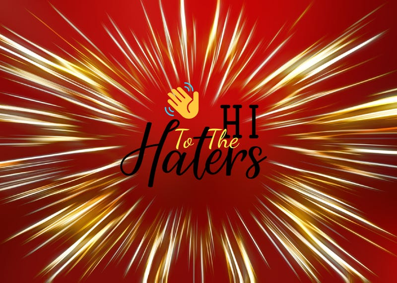 hi to the haters logo
