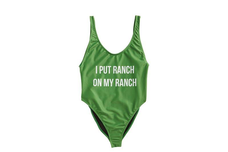 Hidden Valley Ranch swimsuit