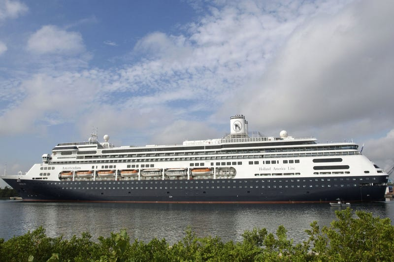 A Holland America cruise ship