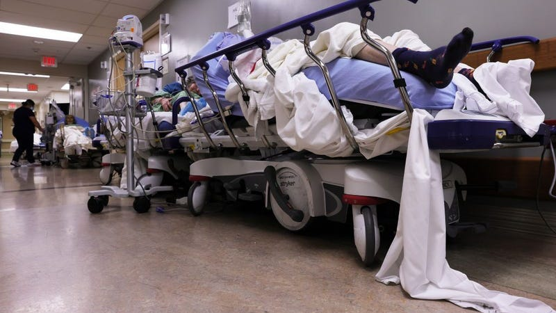 COVID patients overloading state hospitals