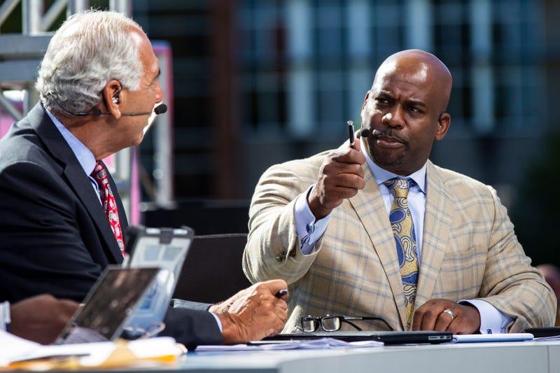 Big Ten Network analyst Howard Griffith