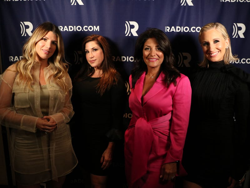 'RHONJ' alum Kathy Wakile (third from left) opens up about her RADIO.COM podcast 'Eat Live Love Indulge'