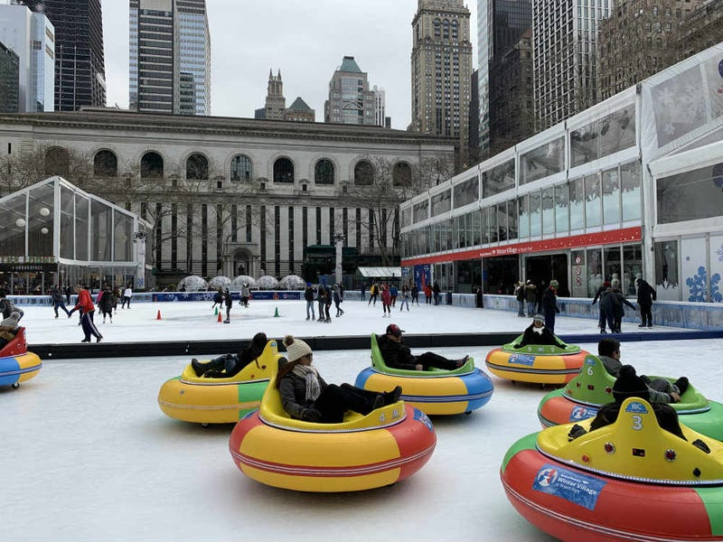 ice bumper cars
