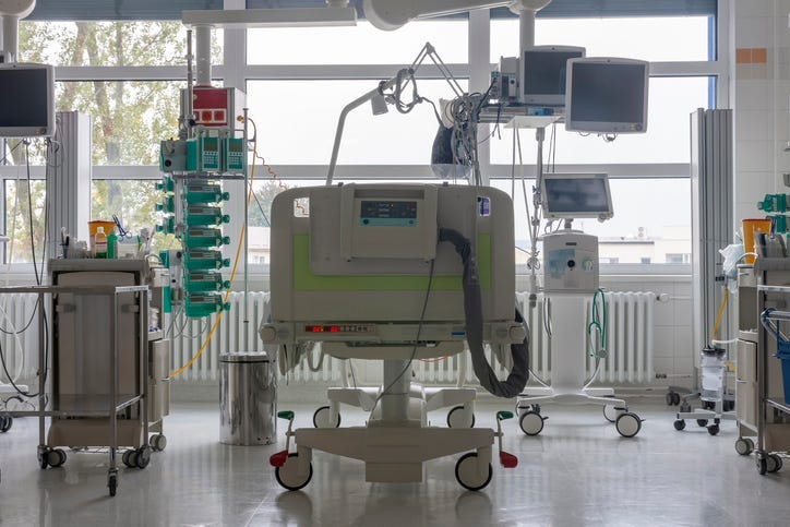 ICU Bed - Getty Images