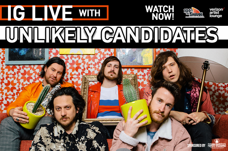 The Unlikely Candidates IG Live watch now