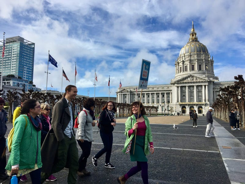 Walk San Francisco is recreating a classic 49-mile scenic drive around the city for tourists on foot.