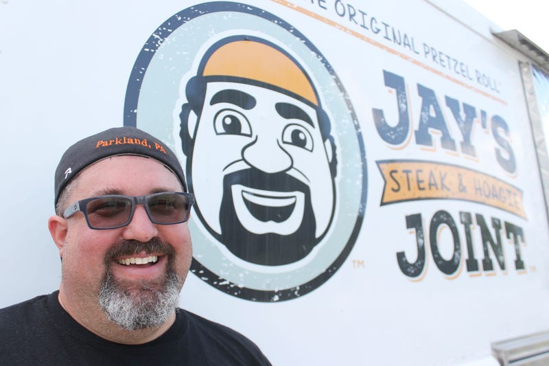 Jason Green, owner of Jay's Steak and Hoagie Joint, started organizing food deliveries to neighbors in need.
