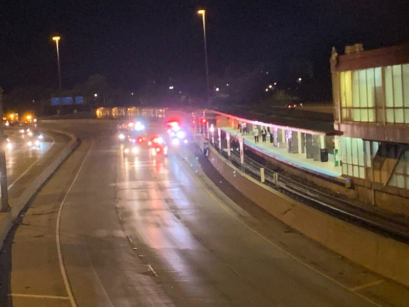 One person was killed and another was seriously injured when they were thrown onto the CTA Red Line tracks near 47th Street after a crash Sept. 4, 2020, on the Dan Ryan Expressway.
